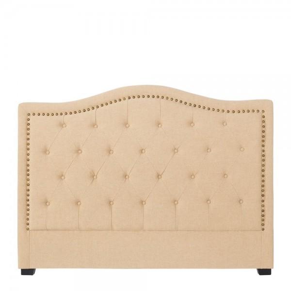 Cabecero para cama de matrimonio cl sico tapizado capiton - Cabeceros de cama tapizados tela ...