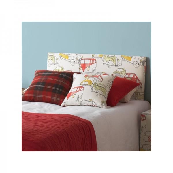 Cabecero infantil tapizado en distintos estampados para - Cabecero cama infantil ...