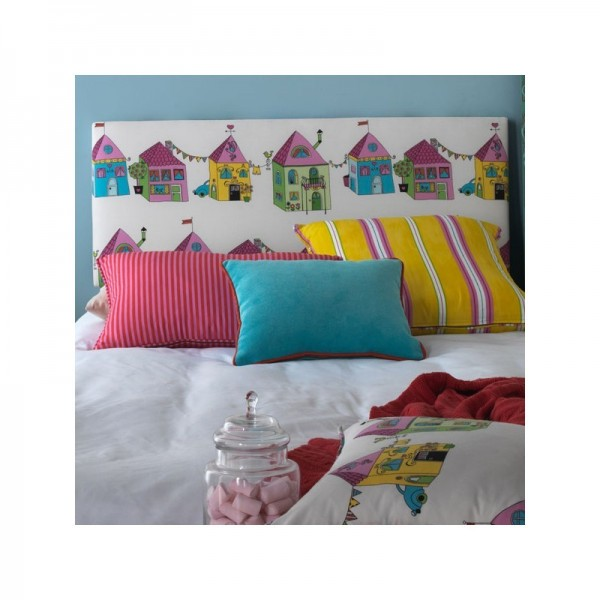 Cabezal alto infantil juvenil tapizado en distintas - Cabezal cama infantil ...