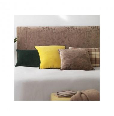 Cabecero de matrimonio tapizado en tela a elegir para cama - Cabeceros cama tela ...