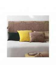 Cabecero de matrimonio tapizado en tela a elegir para cama de 135 cm.