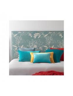 Cabezal de matrimonio para cama de 150 cm. tapizado en tela a elegir.