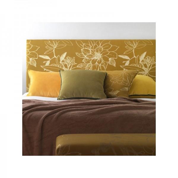 Cabezal de matrimonio para cama de 150 cm tapizado en tela a elegir - Cabezal de cama tapizado ...
