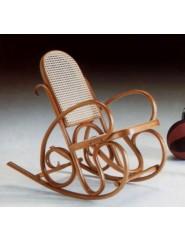 Mecedora infantil clásica de madera