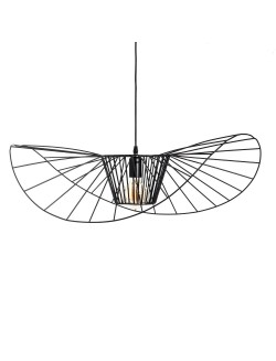 Lámpara de techo moderna de diseño metal acabado oro o negro.