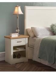 Cabecero de dormitorio para cama de 135, 150, 160 o 180 lacado blanco, cerezo o nogal.