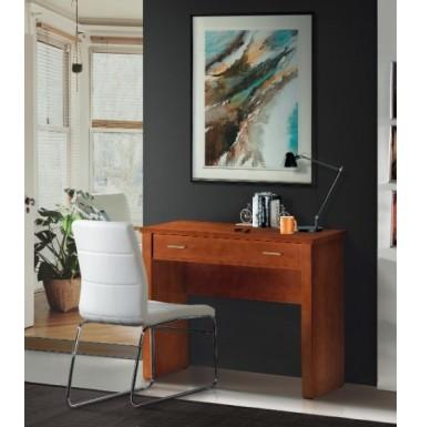 Mesa escritorio pequeña con un cajón.