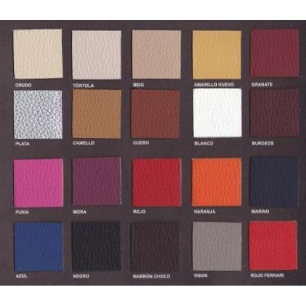 Sof peque o auxiliar tapizado en tela o ecopiel con - Telas de tapizado ...