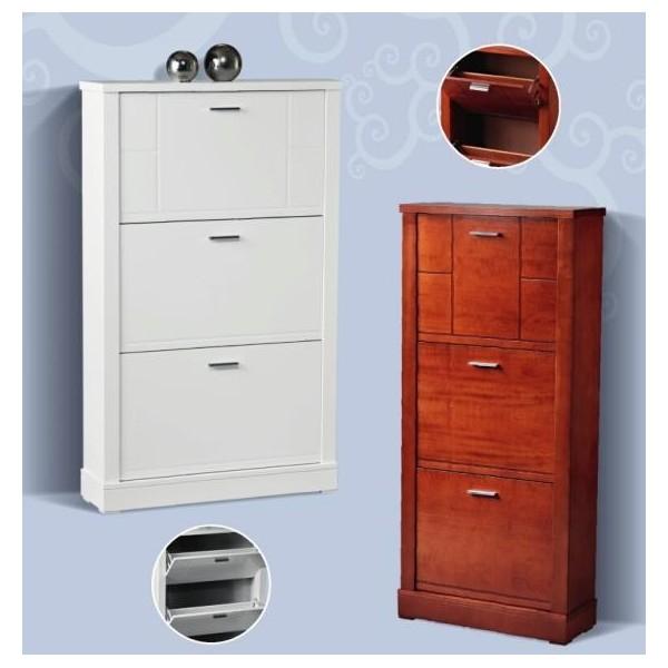 Mueble entrada moderno homcom armario de para entrada bao for Entraditas con zapatero