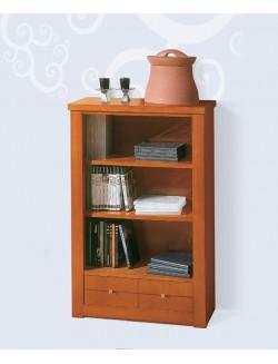 Mueble estantería pequeño con un cajón.