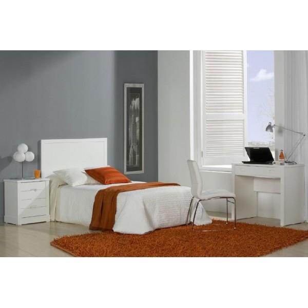Cabecero de madera para cama de 90, 105, 135 y 150.
