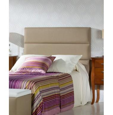 Cabeceros para camas cama roble estilo colonial con - Hacer cabeceros tapizados ...