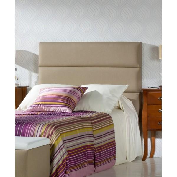 Cabecero tapizado en polipiel para camas de 90 105 135 y for Cabecero cama 90 blanco