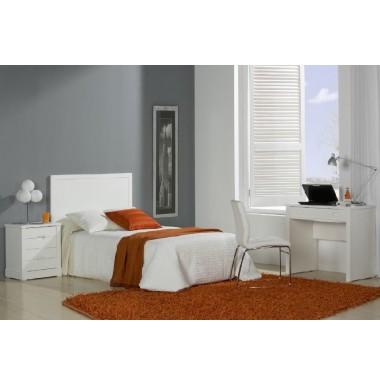 Muebles de dormitorio juvenil lacados en blanco for Muebles de dormitorio juvenil