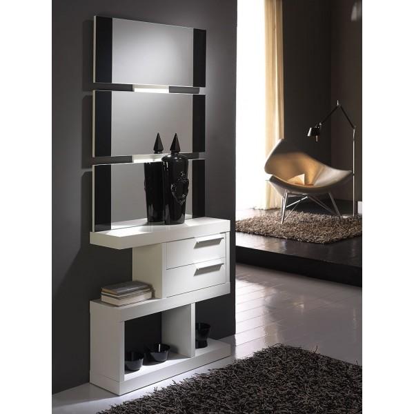 Espejo moderno para recibidor - Muebles de recibidor modernos ...