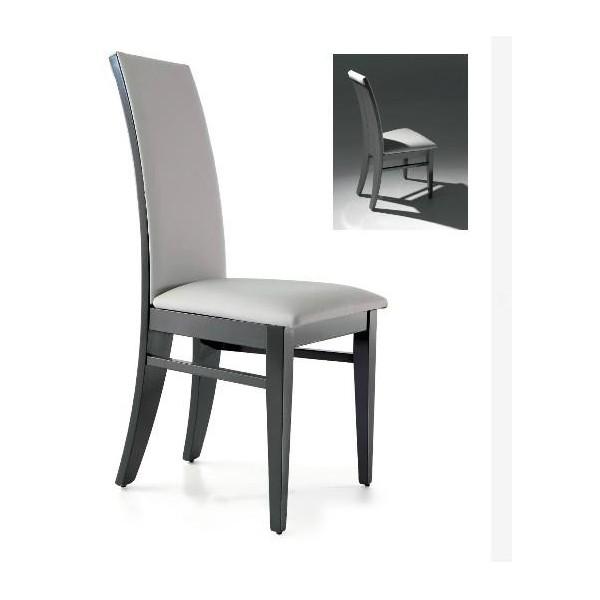Sillas comedor madera vidaxl sillas de comedor pack de for Sillas comedor polipiel beige
