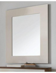 Espejo madera en varios acabados rectángular.